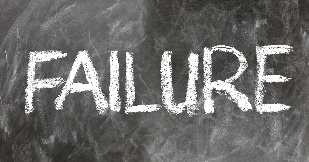 how to handle failure in life