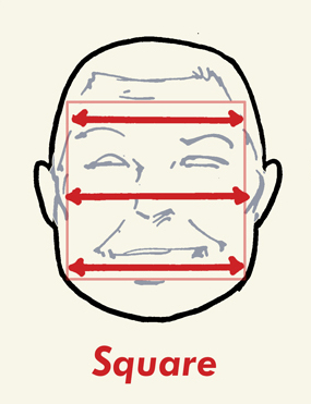 square face shape hairstyles male