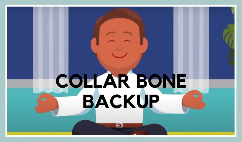 Collar Bone Backup exercise